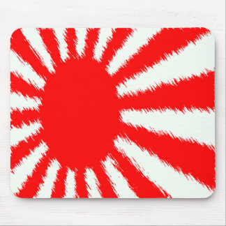 Japan's Rising Sun Mouse Pad