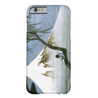 Japonais vintage de garçon et de mont Fuji de Coque iPhone 6 Barely There
