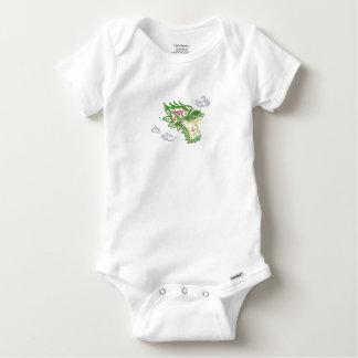 Japonias dragon baby onesie