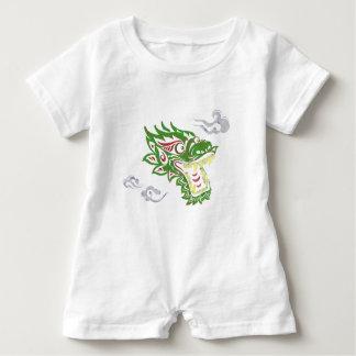Japonias dragon baby romper