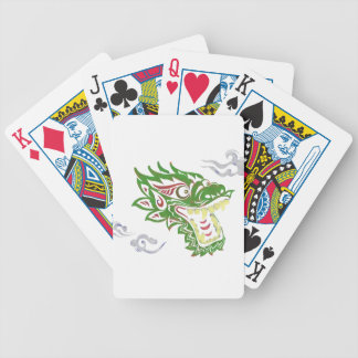 Japonias dragon bicycle playing cards