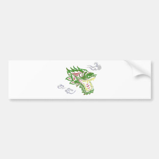 Japonias dragon bumper sticker