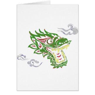 Japonias dragon card