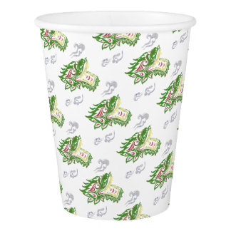 Japonias dragon paper cup