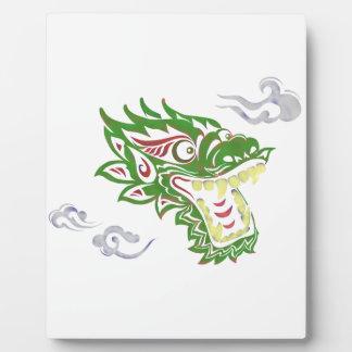 Japonias dragon photo plaques