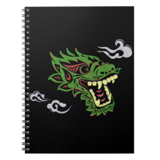 Japonias dragon spiral notebook