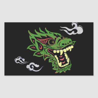 Japonias dragon sticker