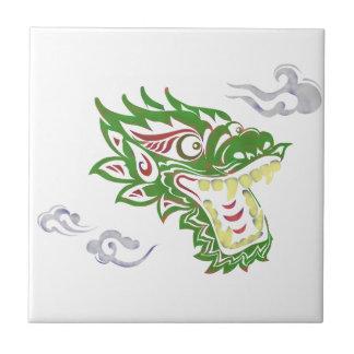 Japonias dragon tiles