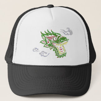 Japonias dragon trucker hat