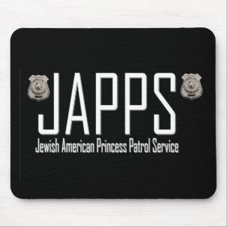 JAPPS:  Jewish American Princess Patrol Service Mouse Pad