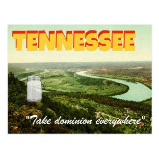 """Jar in Tennessee"" Stevens-themed Postcard"