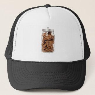 Jar of chocolate chip cookies trucker hat