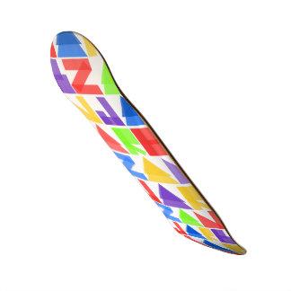 Jarb - modèle de Zan de couleur différente pro Planche À Roulette Customisée