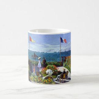 Jardin à Sainte-Adresse by Claude Monet Coffee Mug