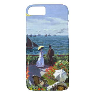 Jardin à Sainte-Adresse by Claude Monet iPhone 8/7 Case