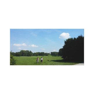 Jardin anglais à Munich Toile