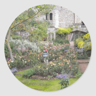 Jardin anglais autocollant