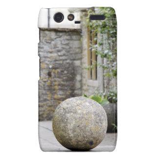Jardin anglais - boule en pierre coques droid RAZR