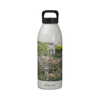 Jardin anglais bouteilles d'eau réutilisables