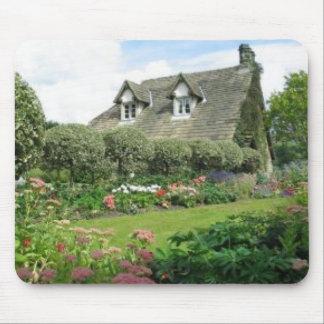 Jardin anglais de cottage tapis de souris