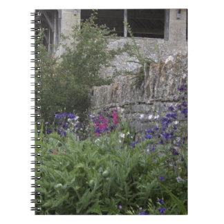 Jardin anglais - église carnet à spirale