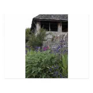 Jardin anglais - église cartes postales