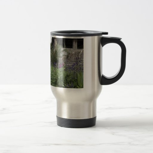 Jardin anglais - église mugs à café
