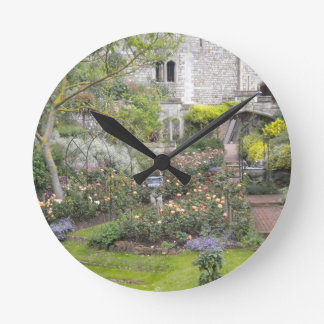 Jardin anglais horloges