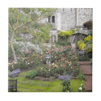 Jardin anglais petit carreau carré