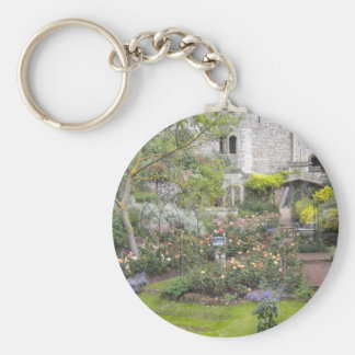 Jardin anglais porte-clés