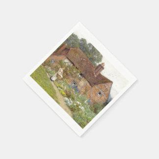 Jardin anglais serviettes en papier