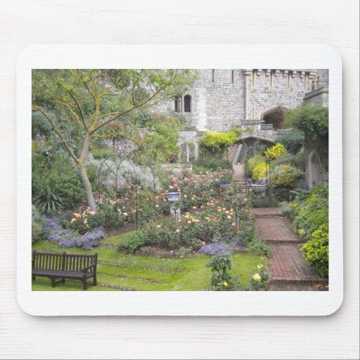 Jardin anglais tapis de souris