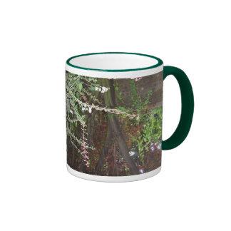 Jardin anglais tasse à café