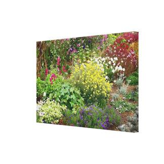 Jardin anglais toiles tendues sur châssis