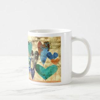 Jardin bleu de l'amour tasse
