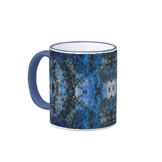 Jardin bleu mug ringer