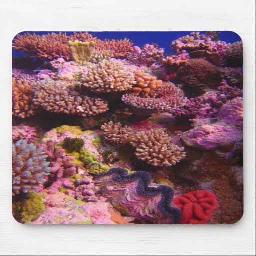 Jardin de corail Mousepad Tapis De Souris