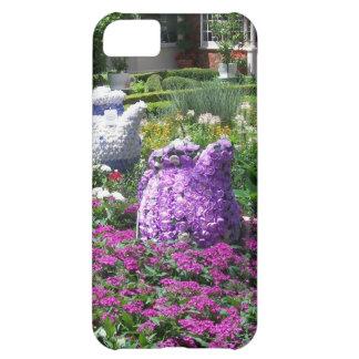 Jardin de l'anglais de temps de thé étui iPhone 5C