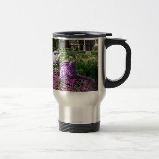 Jardin de l'anglais de temps de thé tasse à café