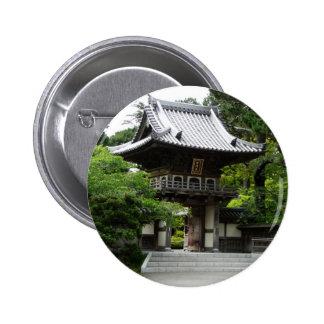 Jardin de thé japonais à San Francisco Macaron Rond 5 Cm
