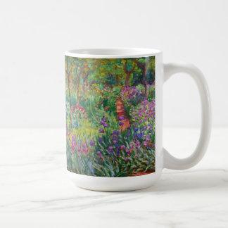 Jardin d'iris de Monet à la tasse de Giverny