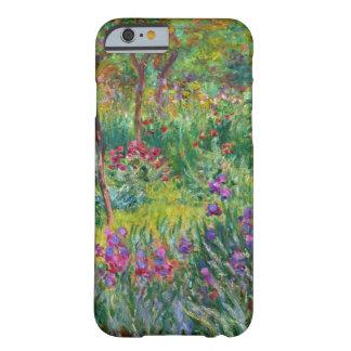 Jardin d'iris de Monet au cas de l'iPhone 6 de Giv