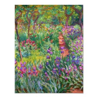 Jardin d'iris de Monet aux invitations de Giverny