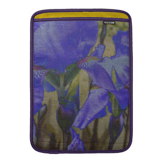 Jardin d'iris poche macbook air