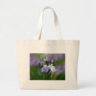 Jardin d'iris sacs fourre-tout