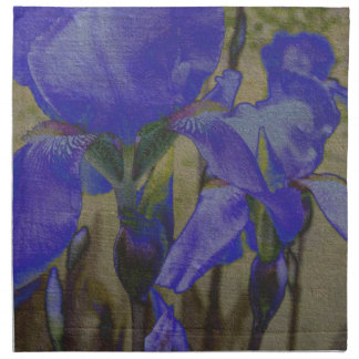 Jardin d'iris serviette
