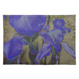Jardin d'iris set de table