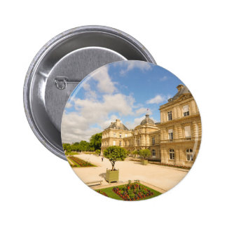 Jardin du Luxembourg in Paris 2 Inch Round Button