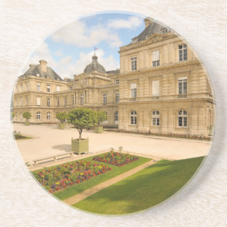 Jardin du Luxembourg in Paris Beverage Coasters