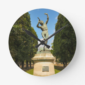 Jardin du Luxembourg in Paris Wall Clocks